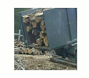 SALE!20%OFF dry hardwood firewood logs 6 bush/load free delivery