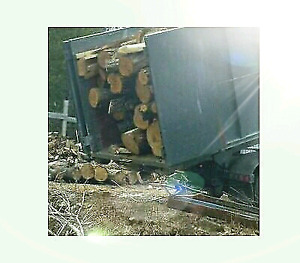 Dry hardwood firewood logs 7 bush/load free delivery!