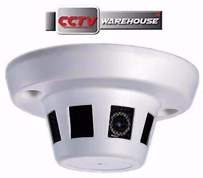 Smoke Detector Spy 1080p HD-TVI-CVI-AHD-CVBS