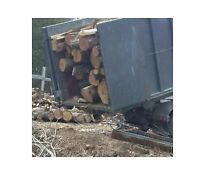 6 bush cords ( 18 face cords) hardwood firewood logs inc del!
