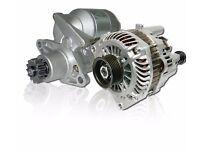Starter Motors & Alternators from £35