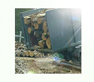 Dry hardwood firewood logs 6 bush/load delivery included!