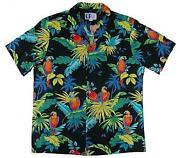Parrot Hawaiian Shirt XL