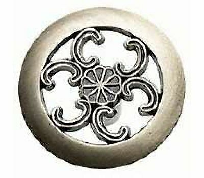 Amerock Allison Round Cabinet Knob With Scroll Cutouts Antique Brass