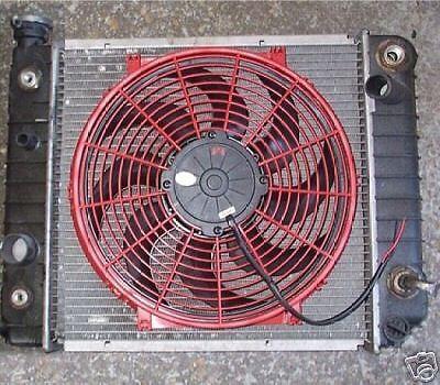 FF DYNAMICS JEEP TJ YJ WRANGLER EXTREME ELECTRIC COOLING FAN KIT MPG HP CUSTOM