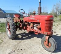 1939 McCormick Farmall H Row Crop Tractor Collector Antique