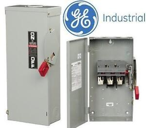NEW GE INDUSTRIAL 480w 3 POLES 60AMP SAFETY SWITCH 104644458