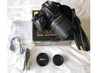Nikon D D5500 and 18-140mm Lens