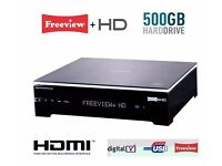 PHILIPS HDT8520 500GB TWIN TUNER FREEVIEW HD RECORDER BOXED + REMOTE