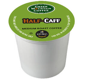 168 K-cups GREEN MOUNTAIN HALF-CAFF COFFEE $101.99 Fast and Fresh!