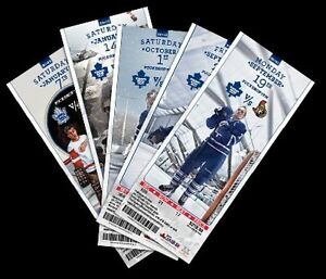 Toronto Maple leaf tickets standing room