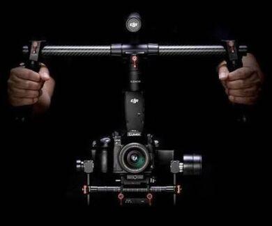 Ronin-M + Follow Focus + Thumb control for focus & Gimbal