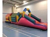 Crazeecourses-bouncy castle hire