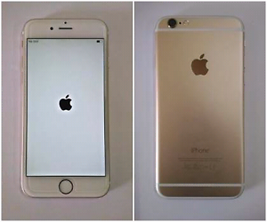 Working iPhone white/gold working 64GB Perth Perth City Area Preview