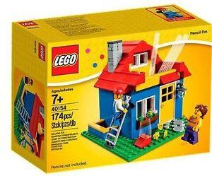 Pot à crayons Lego maison house 40154 Neuf scellé FERME