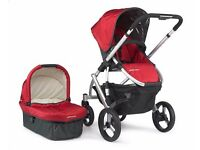 Uppababy buggy+Pram+buggy board+maxi cosi car seat+Baby bjorn+changing table