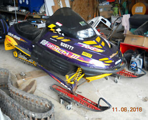 1998 Skidoo CK3 Rolling-Chassis