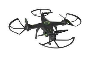 Protocol Galileo Stealth Quadcopter Drone with Live Streaming Vi