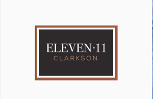 Eleven 11  Clarkson Towns Mississauga. 1st Access. 416 948 4757