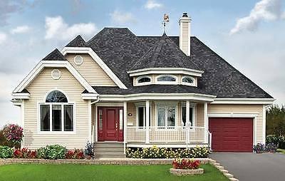 Einfamilienhaus, Fertighaus, Wohnhaus, Holzhaus Ökohaus