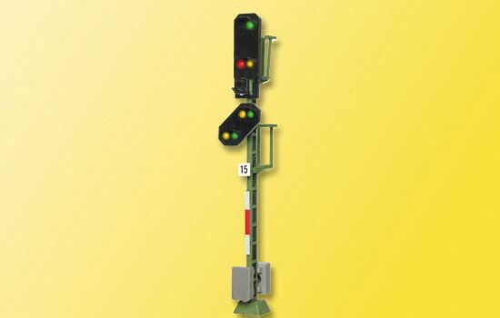 SH Viessmann 4015 Licht-Einfahrsignal mit Vorsignal Fabrikneu