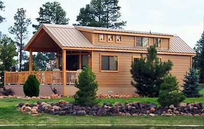 Cabin Tiny House 2 Bed 1-12 Bath Movable Pre-fab For Your Propertylot Furnishd
