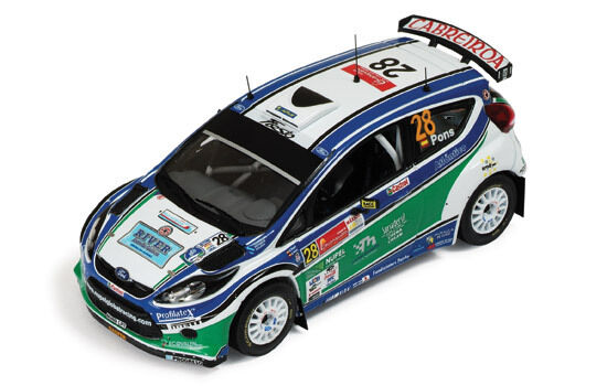 1/43 Ford Fiesta RS S2000   Winner SWRC Rally Mexico 2010   Xavier Pons