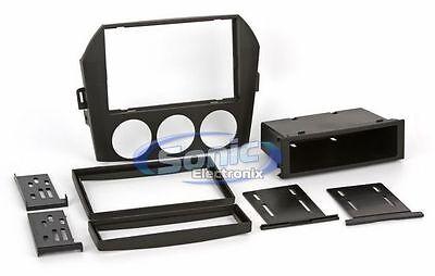 Scosche MA1532B Single/Double DIN Dash Kit w/Pocket for 2006+ Mazda Miata/MX5 Scosche Pocket Dash Kit