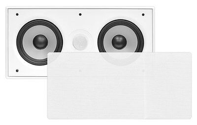 "Pyle PDIWCS56 In-Wall / In-Ceiling Dual 5.25"" Single Center Channel Sound System"