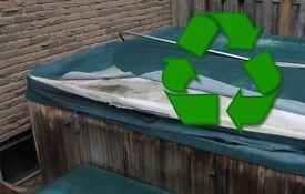 Free hot tub disposal