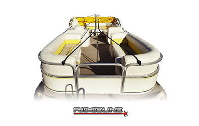 Ridgeline Pontoon Boat Cover Support System by Eevelle  - Fits Up to 28'