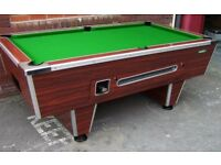 7 ft British Slate Pool Table (picture for illustration only)