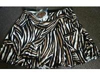 Whole sale - job lot of ladies skirts - various sizes up to plus size 20 skirts in total