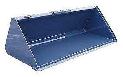 New 672 1 Yard Skid Steer Loader Snowmulch High Capacity Bucket Bobcat Case
