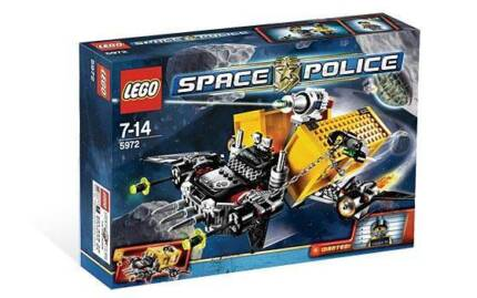 Lego 5972 Space Police: Container Heist (Brand New) RARE RETIRED Indooroopilly Brisbane South West Preview
