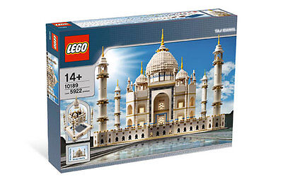 Lego Sculptures 10189 Taj Mahal New Sealed