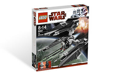 Lego 8087 Star Wars TIE Defender New Sealed! Unique 3 Winged Tie Fighter! Rare