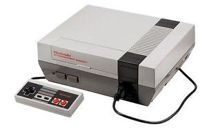 Recherche vos vieilles console de jeux Nintendo