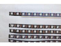 LED Tape | 60px/M | 1Meter lengths | WS2812B chipset | 3-pin strip