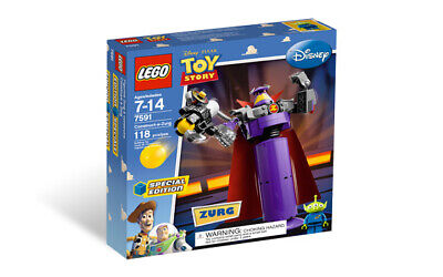 LEGO 7591 Toy Story Construct-a-Zurg NIB Sealed Hard to Find Retired