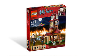 LEGO HARRY POTTER THE BURROW 4840 DISCONTINUED BNISB