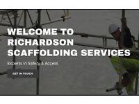 RICHARDSON scaffolding services
