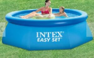 6 ft x 30 filtered pool with cover.