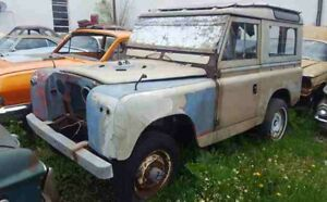 Looking for 1958 or 1959 series 2 Land Rover