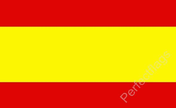 SPAIN FLAG - SPANISH NATIONAL FLAGS - Choose Size 3x2, 5x3, 8x5 Feet