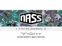 Adult weekend camping tickets for nass