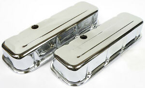 BBC Chromed Tall Valve Covers.