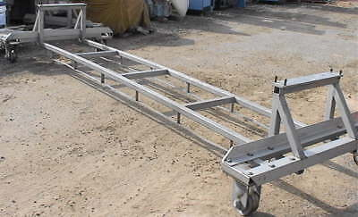 Stainless Steel Chamber Cart 14 Long 5 Feet Wide