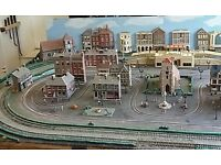 Model railway layout