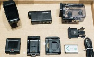 64GB Sony Action Waterproof camera + Live View remote screen